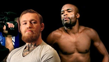 Conor McGregor and Anderson Silva