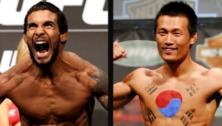 Dennis Bermudez and Chan Sung Jung Korean Zombie