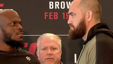 Derrick Lewis vs Travis Browne UFC Halifax faceoff