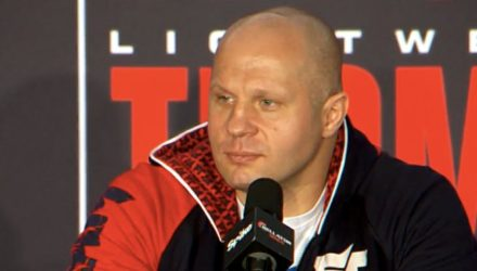 Fedor Emelianenko Bellator 172 Post-Fight