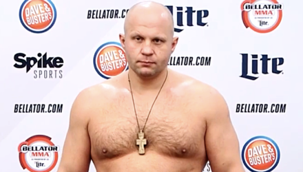 Fedor Emelianenko - Bellator 172 weigh