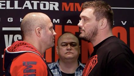 Fedor vs Matt Mitrione faceoff