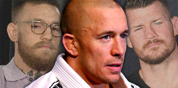 Georges St-Pierre over McGregor and Bisping