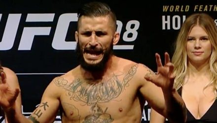 Ian McCall UFC 208 weigh-in