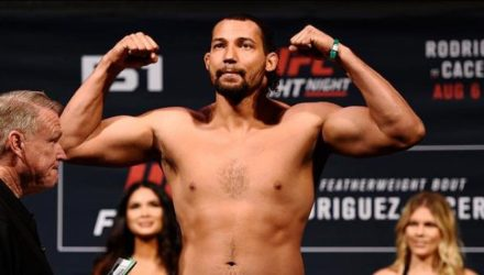 Justin Ledet UFC weigh-in