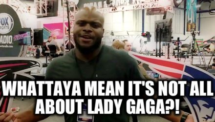 Not All About Lady Gaga - Derrick Lewis Super Bowl
