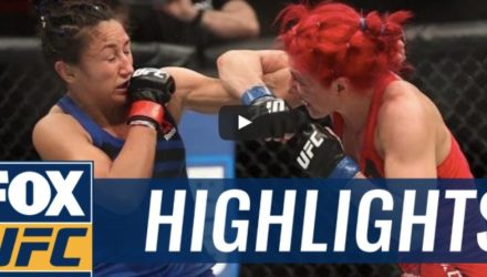 Randa Markos vs Carla Esparza UFC Halifax Highlights