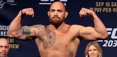 Travis Browne UFC 203 weigh-in