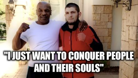 Mike Tyson and Khabib Nurmagomedov