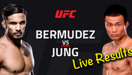 UFC Houston Live Results