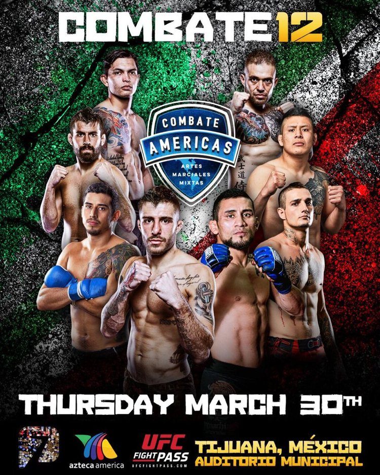 Combate 12 Fight Poster