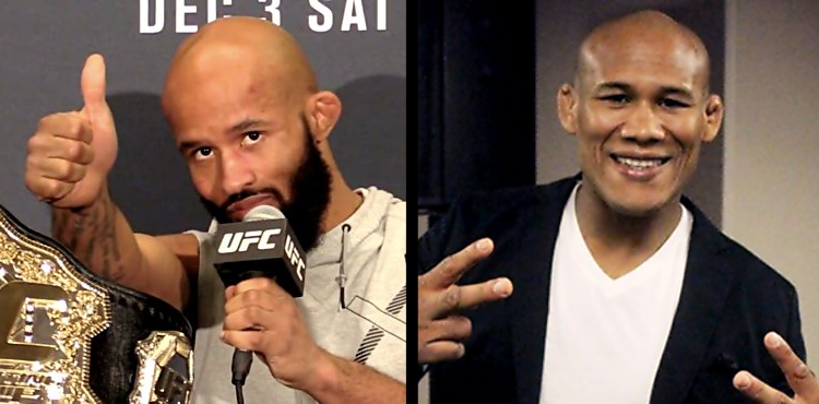 Demetrious Johnson and Jacare Souza