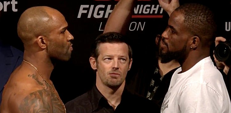 Jimi Manuwa vs Corey Anderson UFC London weigh-in