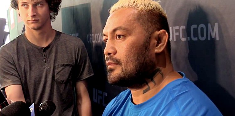 Mark Hunt at UFC 209