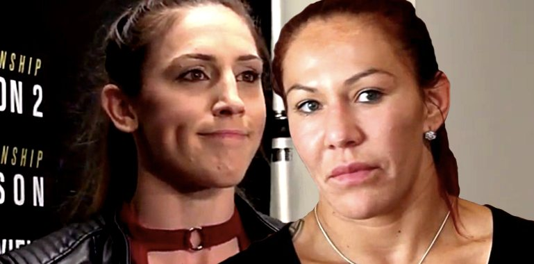 Megan Anderson and Cris Cyborg
