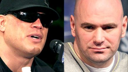 Tito Ortiz and Dana White