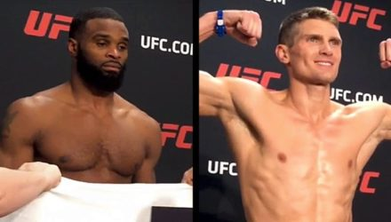 Tyron Woodley and Stephen Thompson UFC 209 weigh-in