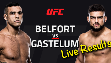 UFC Fortaleza Live Results