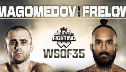 WSOF 35 Magomedov vs Frelow