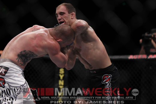 Brian Ebersole vs Chris Lytle at UFC 127