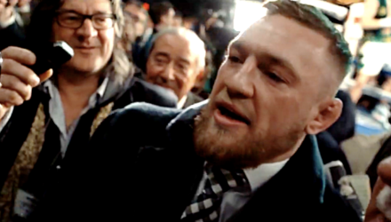 Conor McGregor explodes at MSG media