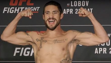 Diego Sanchez UFC Nashville Weigh