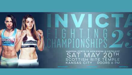 Invicta FC 23 Fight Poster