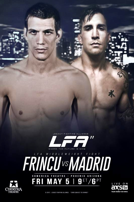 LFA 11 Frincu vs Madrid Fight Poster