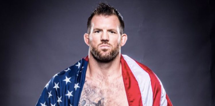 Ryan Bader Bellator promo shoot