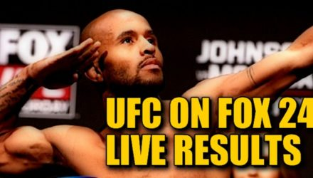 UFC on FOX 24 Live Results