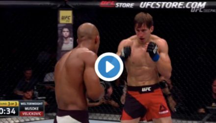 Bojan Velickovic UFC Stockholm Highlight
