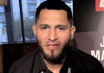 Jorge Masvidal UFC 211 Media Day
