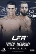 LFA 11 Frincu vs Mendonca Fight Poster