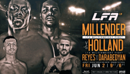 LFA 13 Millender vs Holland Fight Poster