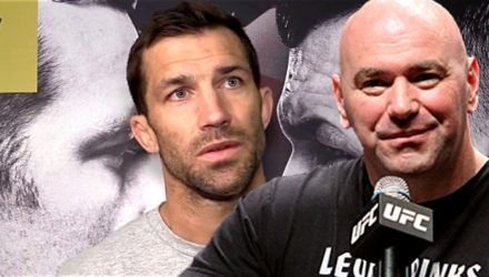 Luke Rockhold and Dana White