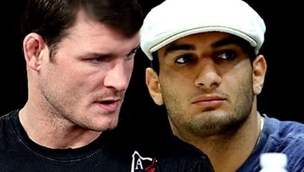 Michael Bisping and Gegard Mousasi