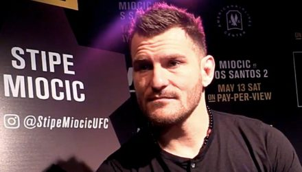 Stipe Miocic UFC 211 Media Day