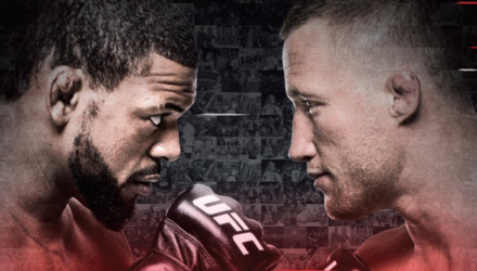 TUF 25 Finale Johnson vs Gaethje Poster