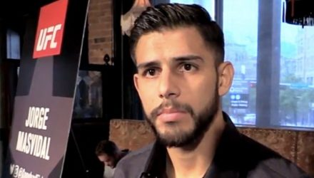 Yair Rodriguez UFC 211 media day