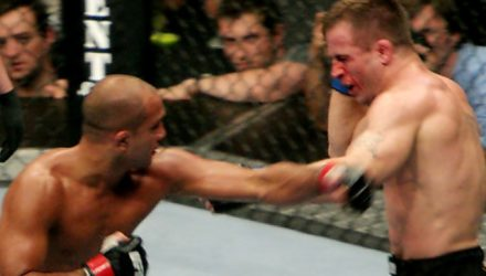 BJ Penn vs Sean Sherk UFC 84