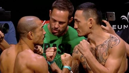 Jose Aldo vs Max Holloway UFC 212 Weigh-in Face-Off