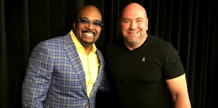 Leonard Ellerbe and Dana White