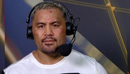 Mark Hunt UFC Aucklund Post-Fight Show
