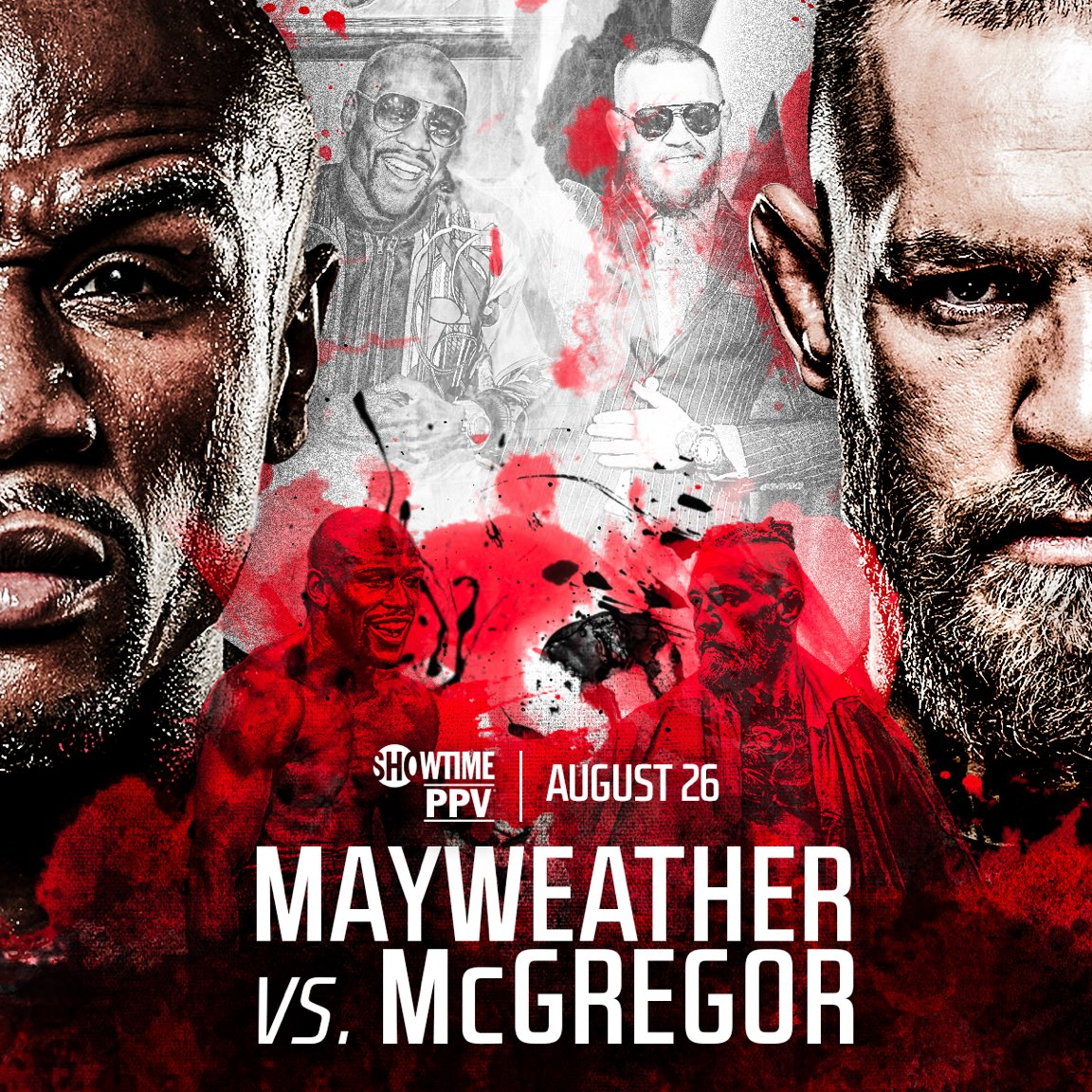 Mayweather vs McGregor Showtime Fight Poster