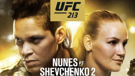 UFC 213 Nunes vs Shevchenko 2 Official Fight Poster