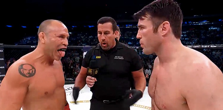 Wanderlei Silva vs Chael Sonnen Bellator NYC Fight Highlights