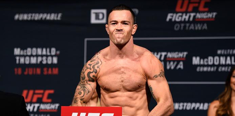 Girl with big tits behing coby covington in ufc Colby Covington Claims Fabricio Werdum Threatened To Kill Him During Altercation In Australia Mmaweekly Com