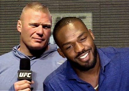 Brock Lesnar vs Jon Jones