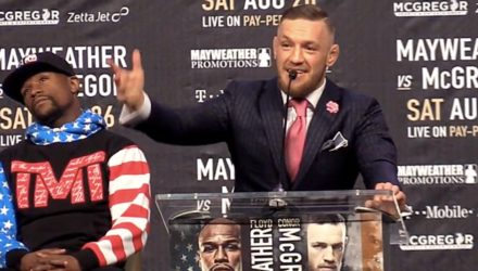 Conor McGregor Mayweather vs McGregor Opening Remarks