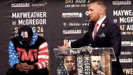 Conor McGregor shreds Floyd Mayweather